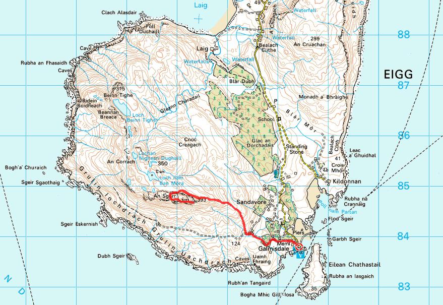 Easter Eigg Race 1 An Sgurr Scottish Hill Racing